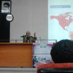 سخنرانی استاد عباسی با موضوع افسردگی سیاسی در دانشگاه شیراز