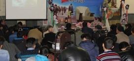 گزارش تصویری؛ سخنرانی استاد حسن عباسی در یادواره شهدای منطقه۱۷