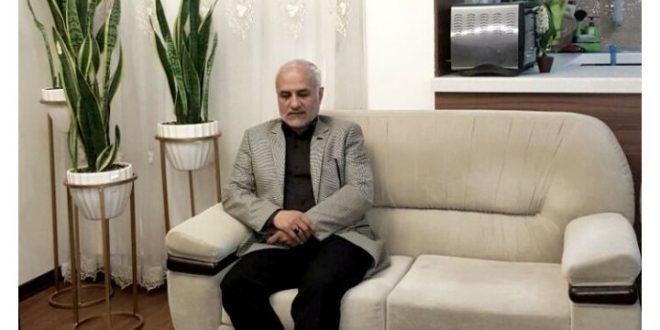 استاد حسن عباسی با خانواده یاشار سلطانی مدیر مسئول پایگاه خبری معماری نیوز دیدار کرد