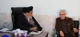 گزارش تصویری؛ دیدار استاد حسن عباسی با امام جمعه بافق