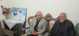 گزارش تصویری؛ دیدار استاد حسن عباسی با خانواده پاسدار شهید مدافع حرم مصطفی زال نژاد