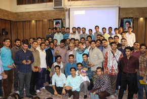 گزارش تصویری؛ سخنرانی استاد حسن عباسی با موضوع بازخوانی پرونده استکبارجهانی معاصر