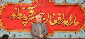 گزارش تصویری؛ سخنرانی استاد حسن عباسی در دومین یادبود شهید مدافع حرم علی تمام زاده