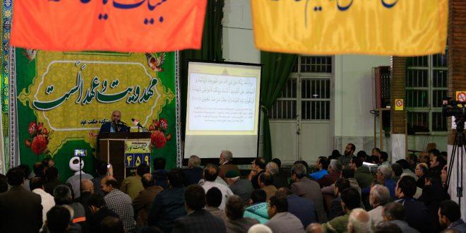 گزارش تصویری؛ سخنرانی استاد حسن عباسی با موضوع مهدویت و عهد الست