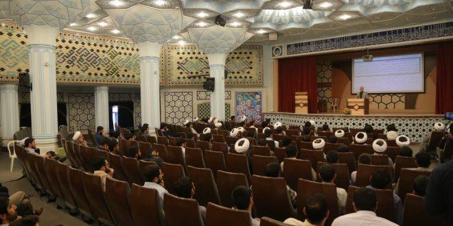 گزارش تصویری؛ سخنرانی استاد حسن عباسی با موضوع طلاب نخبه و تمدنسازی