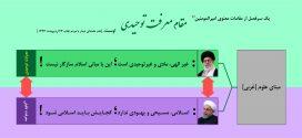 تقابل استراتژیک حسن روحانی با امام خامنهای