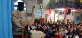 گزارش تصویری؛ سخنرانی استاد حسن عباسی با موضوع ویژه برنامه هفته وحدت و بسیج