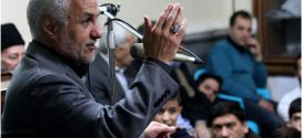 گزارش تصویری؛ سخنرانی استاد حسن عباسی در هفتمین یادواره شهدا در ایام کربلای ۵