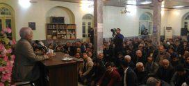 گزارش تصویری؛ سخنرانی استاد حسن عباسی با موضوع چهلسال بصیرت و حضور